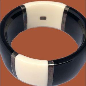 Ippolita Cream and Black Resin Bracelet